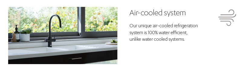 Air-cooled system.